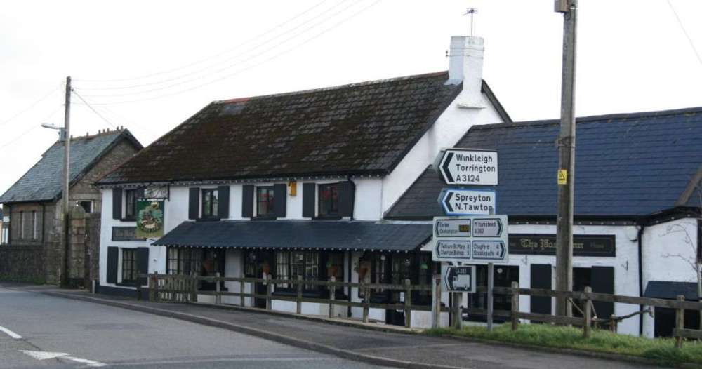 The Post Inn at Whiddon Down
