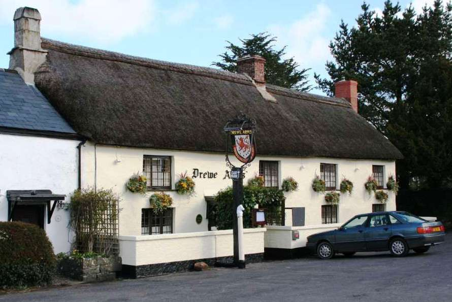 The Drewe Arms pub