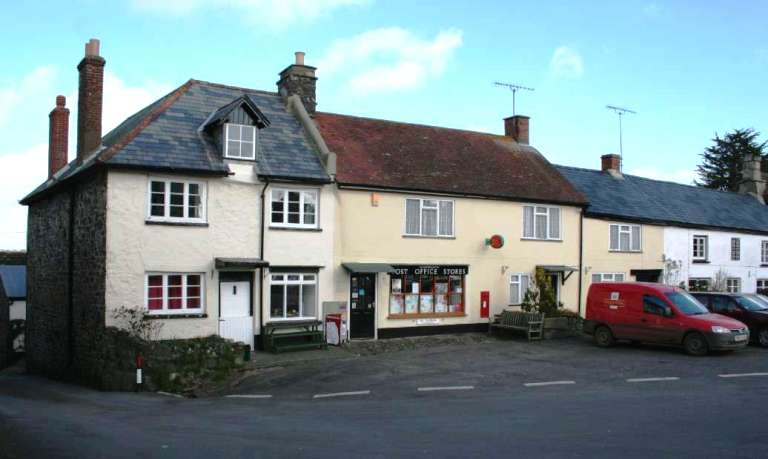 Drewsteignton Post Office and village store